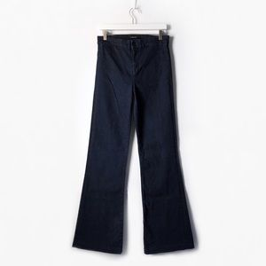 j brand 2387 inkwell tailored high rise flare jean